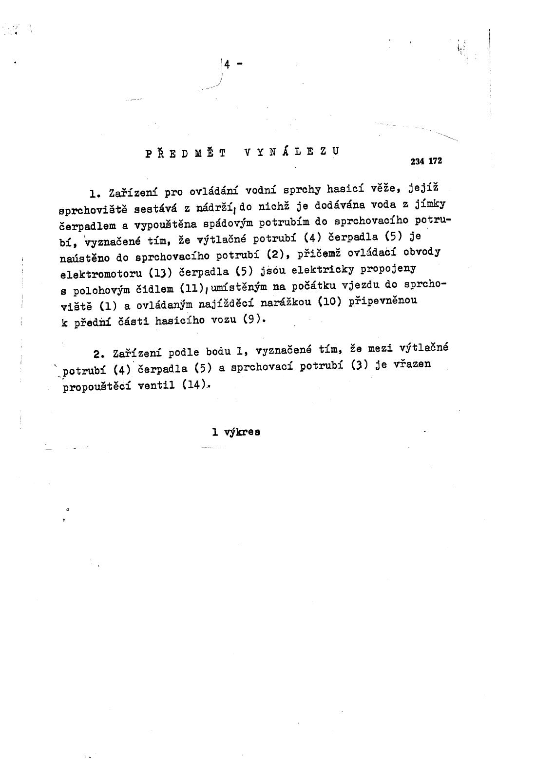 Zarizeni Pro Ovladani Vodni Sprchy Hasici Veze 01 04 1987 234172