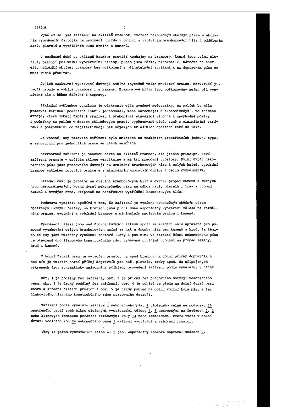 Zarizeni Na Sklizen Brambor 16 03 1987 238905 Databaza