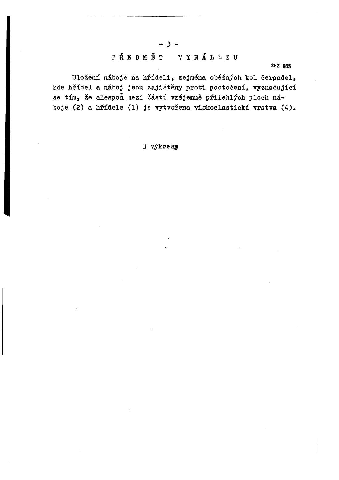 Ulozeni Naboje Na Hrideli 11 04 1989 262865 Databaza Patentov