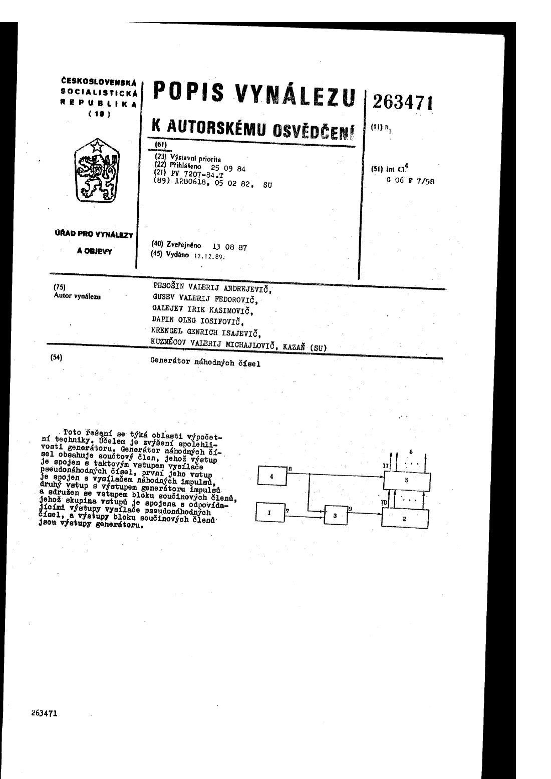 Loto Lotrie nhodn genertor (Slovakia)
