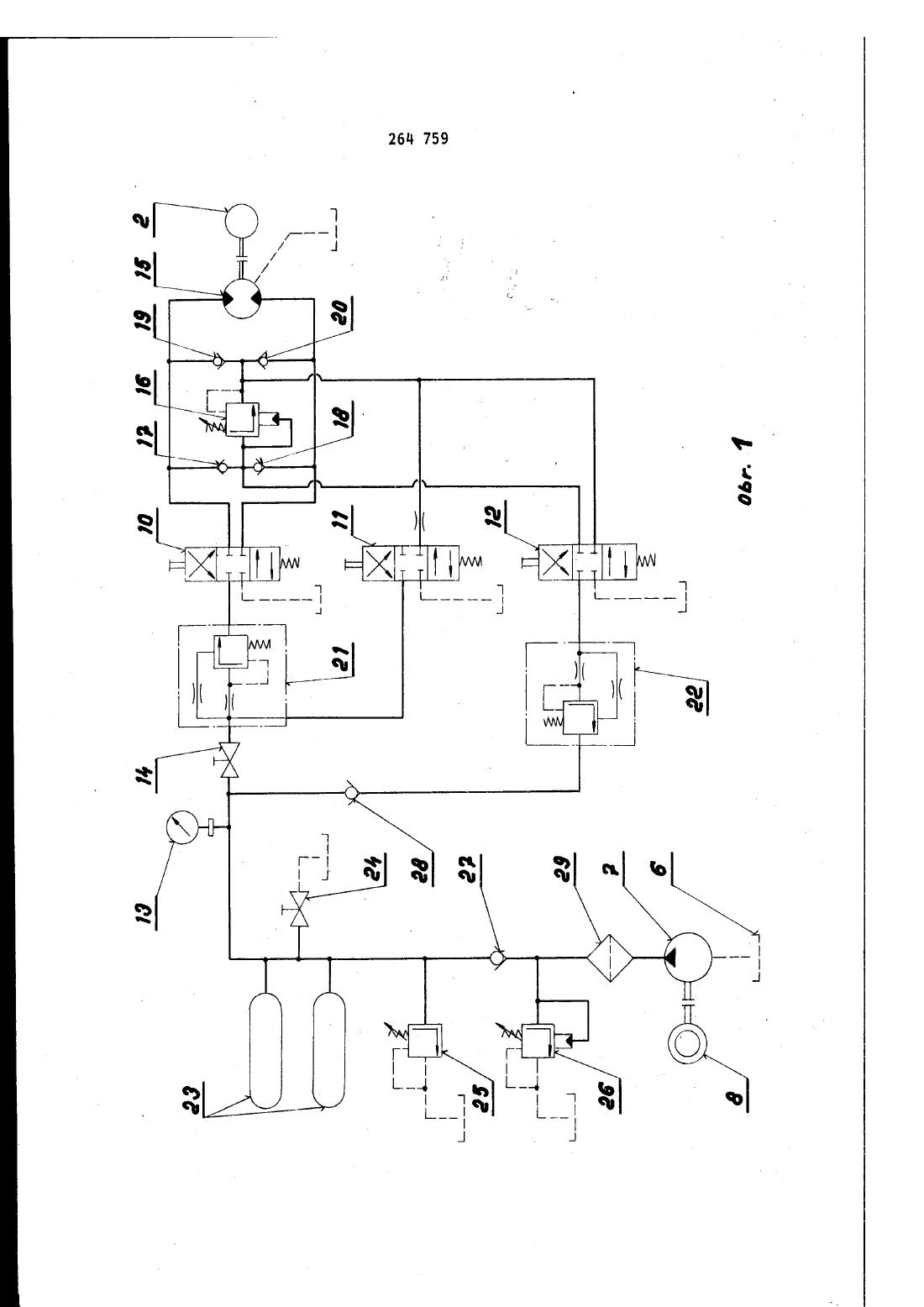 Zapojeni Hydroakumulatoroveho Pohonu Voziku Pro Dopravu Rubaniny A