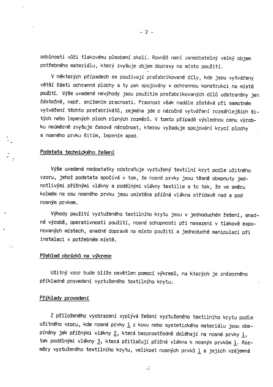590da69a59a Vystužený textilný kryt — 07.07.1993 — U 109 — Databáza patentov ...