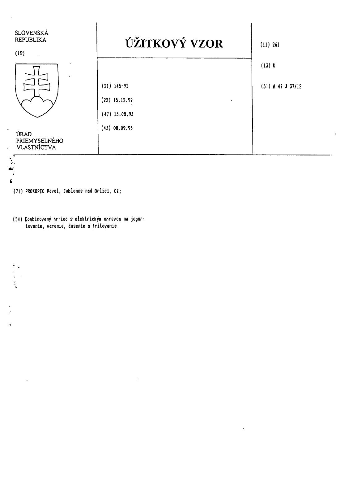 Kondenzacna Pokrievka 05 03 2002 U 3152 Databaza Patentov